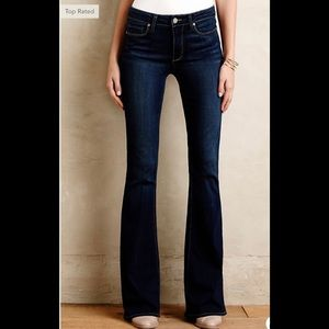 Paige High Rise Bell Canyon Flare Bottom Jeans